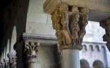 Capitell musical del claustre de Sant Cugat