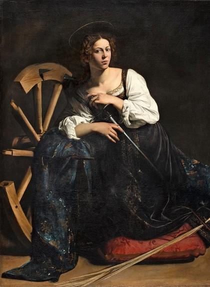'Santa Caterina d'Alexandria', de Caravaggio
