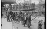 Arribada d'immigrants a l'illa d'Ellis, el 1915