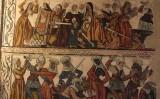 Frescos de la catedral de Mondoñedo (Lugo) que mostren escenes de la matança dels Innocents
