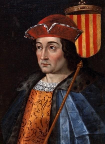 Detall del retrat del casament de Ramon Berenguer IV amb Peronella d'Aragó