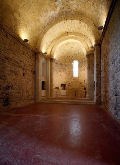 La capella del castell de Miravet