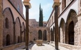 Restes del claustre del castell de Cardona