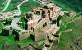 Vista aèria del castell de Cardona
