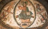 La figura del Crist que decorava l'absis de la canònica de Santa Maria de Mur, ara al Museum of Fine Arts de Boston