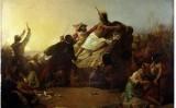'Pizarro capturant Atahualpa', de John Everett Millais (1845)