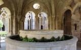 El templet del lavabo, on els monjos es rentaven les mans abans d'entrar al refetor (menjador)