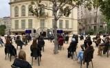 Una setantena de persones van assistir a l'acte de presentació de la campanya #NoErenBruixes, eren dones