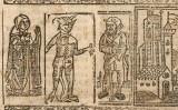 Detall d'unes cobles on es narra la mort de Joan Malet. Van ser publicades el 1549, el mateix any de la seva execució